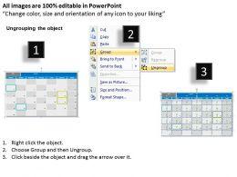 September 2013 Calendar PowerPoint Slides PPT templates