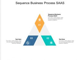 Sequence Business Process SAAS Ppt Powerpoint Presentation File Gallery Cpb
