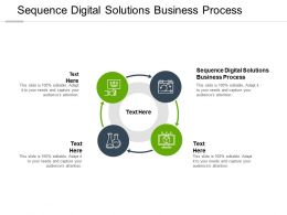 Sequence Digital Solutions Business Process Ppt Powerpoint Presentation Gallery Topics Cpb