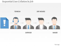 Sequential Case Collation In Job Flat Powerpoint Design