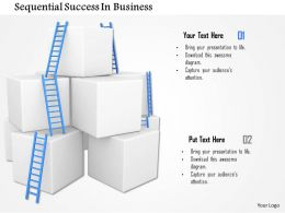Sequential Success In Business Image Graphics For Powerpoint