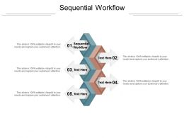 Sequential Workflow Ppt Powerpoint Presentation Layouts Cpb