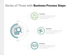 Series Of Three With Business Process Steps