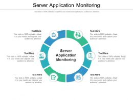 Server Application Monitoring Ppt Powerpoint Presentation Slides Format Cpb
