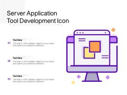 Server Application Tool Development Icon