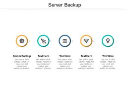 Server Backup Ppt Powerpoint Presentation Styles Background Images Cpb