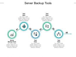 Server Backup Tools Ppt Powerpoint Presentation Icon Graphics Download Cpb