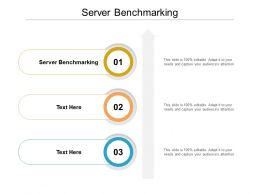 Server Benchmarking Ppt Powerpoint Presentation Summary Samples Cpb