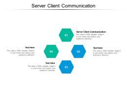 Server Client Communication Ppt Powerpoint Presentation Ideas Guidelines Cpb