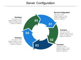 Server Configuration Ppt Powerpoint Presentation Summary Shapes Cpb