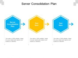 Server Consolidation Plan Ppt Powerpoint Presentation Model Elements Cpb