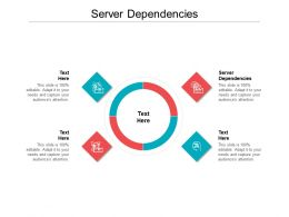 Server Dependencies Ppt Powerpoint Presentation Model Smartart Cpb