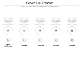 Server File Transfer Ppt Powerpoint Presentation Show Deck Cpb