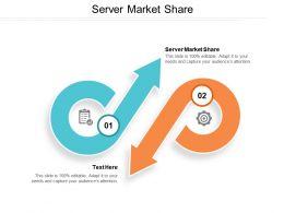 Server Market Share Ppt Powerpoint Presentation File Slide Portrait Cpb