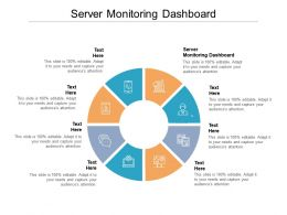 Server Monitoring Dashboard Ppt Powerpoint Presentation File Template Cpb