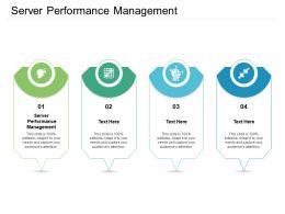 Server Performance Management Ppt Powerpoint Presentation Inspiration Background Image Cpb