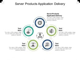 Server Products Application Delivery Ppt Powerpoint Presentationmodel Brochure Cpb