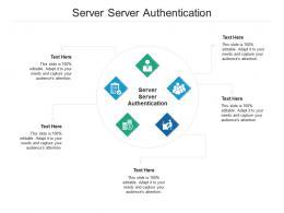 Server Server Authentication Ppt Powerpoint Presentation Slides Picture Cpb