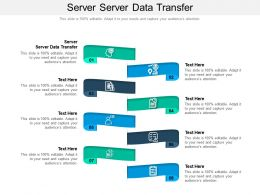 Server Server Data Transfer Ppt Powerpoint Presentation Templates Cpb