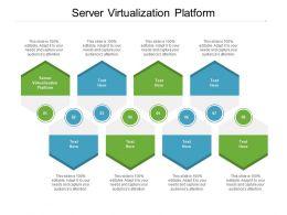 Server Virtualization Platform Ppt Powerpoint Presentation Layouts Visuals Cpb