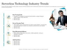Serverless Technology Industry Trends Migrating To Serverless Cloud Computing