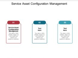 Service Asset Configuration Management Ppt Powerpoint Presentation File Example File Cpb