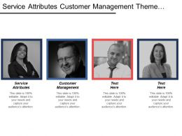 Service Attributes Customer Management Theme Product Services Organizational Capital