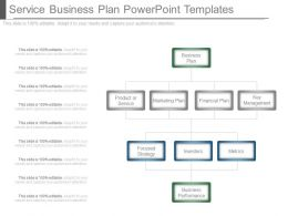 Service Business Plan Powerpoint Templates