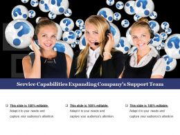 Service Capabilities Expanding Company S Support Team