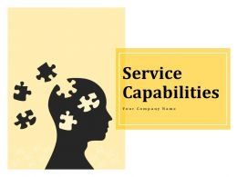 Service Capabilities Ppt Infographics Designs Download Planning Protection And Optimization