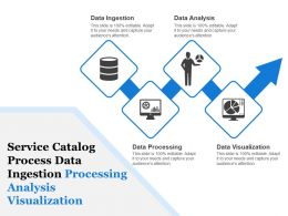 Service Catalog Process Data Ingestion Processing Analysis Visualization