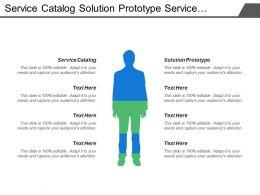 Service Catalog Solution Prototype Service Design Service Audit
