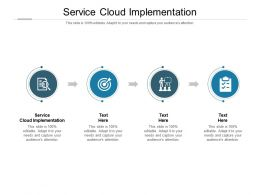 Service Cloud Implementation Ppt Powerpoint Presentation File Design Inspiration Cpb