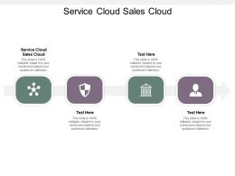 Service Cloud Sales Cloud Ppt Powerpoint Presentation Summary Tips Cpb