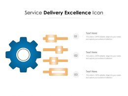 Service Delivery Excellence Icon