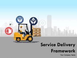 Service Delivery Framework Powerpoint Presentation Slides