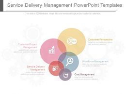 Service Delivery Management Powerpoint Templates