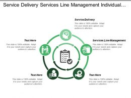 Service Delivery Services Line Management Individual Life Experiences