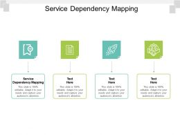 Service Dependency Mapping Ppt Powerpoint Presentation Outline Graphic Tips Cpb