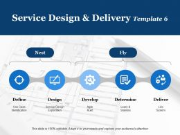 Service Design And Delivery Define Design Ppt Powerpoint Presentation Model Outfit