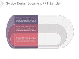 Service Design Document Ppt Sample