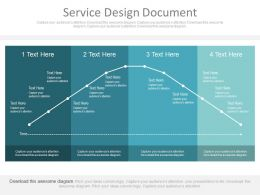 Service Design Document Ppt Slides