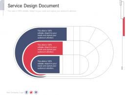 Service Design Document Slide New Service Initiation Plan Ppt Elements