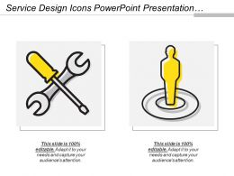 Service Design Icons Powerpoint Presentation Templates