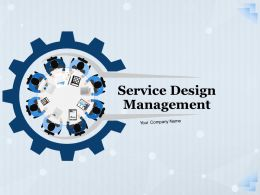 Service Design Management Powerpoint Presentation Slides