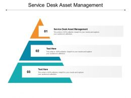 Service Desk Asset Management Ppt Powerpoint Presentation Model Example File Cpb