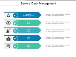 Service Desk Management Ppt Powerpoint Presentation Model Background Images Cpb