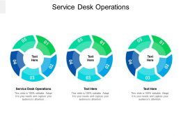 Service Desk Operations Ppt Powerpoint Presentation Icon Show Cpb