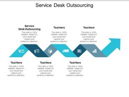 Service Desk Outsourcing Ppt Powerpoint Presentation Ideas Icons Cpb