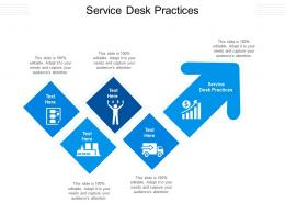 Service Desk Practices Ppt Powerpoint Presentation Professional Example Introduction Cpb